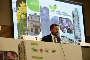 Inauguración del Congreso Español de Botánica