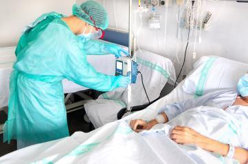 Castilla-La Mancha baja de los 200 hospitalizados COVID en cama convencional por primera vez desde el 31 de julio