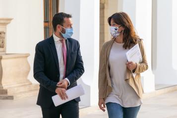 Rueda de prensa Consejo de Gobierno Blanca Fernandez (II)