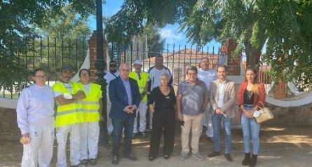 Espinoso del Rey y Los Navalmorales mejoran edificios y espacios públicos a través de sendos proyectos RECUAL del Gobierno regional