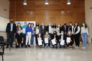 Acto Certificados Profesionalidad Parkinson Villarrobledo