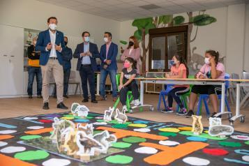 El Gobierno regional invierte 110.000 euros para mejorar la red de equipamientos regionales de educación ambiental con un nuevo aula en el Vivero Central de Toledo