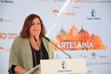 Balance Farcama, Patricia Franco, consejera de Economía, Empresas y Empleo