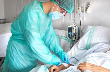 Castilla-La Mancha prosigue con la disminución de hospitalizados por COVID-19