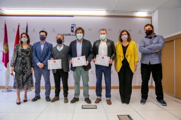 Entrega de premios del Certamen de la Castilla-La Mancha Film Commission