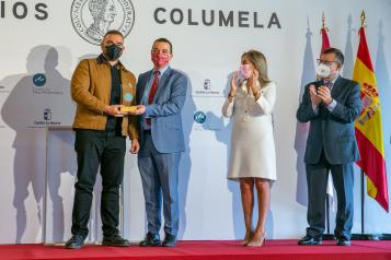 Entrega de los III Premios Columela.