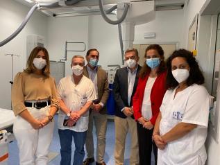 El Gobierno de Castilla-La Mancha potencia el Servicio de Radiodiagnóstico del Hospital de Tomelloso con modernos equipos de alta tecnología