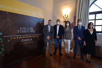 . La consejera de Economía, Empresas y Empleo, Patricia Franco, presenta la tercera edición del Congreso Culinaria