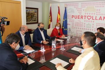 El nuevo Hospital de Puertollano será la consolidación del proceso de recuperación del sistema público de salud en Castilla-La Mancha
