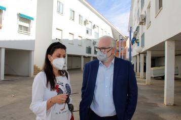 El Gobierno de Castilla-La Mancha ha invertido más de 1,1 millones estos dos años para rehabilitar viviendas de protección pública en Ciudad Real