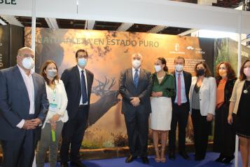 El Gobierno de Castilla-La Mancha muestra su apoyo al sector cinegético en FERCATUR como motor económico y garante de la biodiversidad del territorio