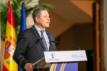 García-Page augura que la celebración del 40 aniversario de la Autonomía en 2022 supondrá un resarcimiento del sector cultural tras el Covid-19