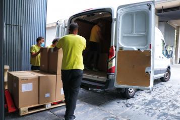 El Gobierno de Castilla-La Mancha ha distribuido esta semana otros 93.000 artículos de protección en los centros sanitarios