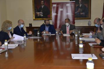 Constituida la comisión de seguimiento del convenio entre la UCLM y la Consejería de Sanidad