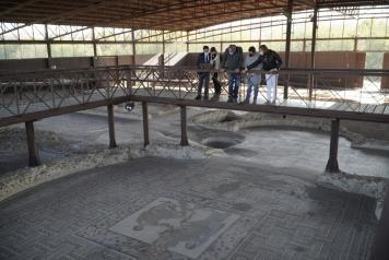 Visita al parque arqueológico de Carranque