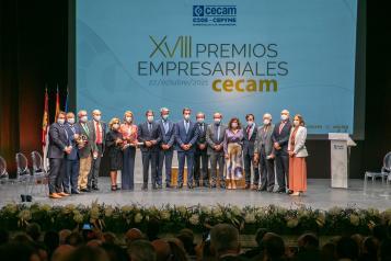XVIII edición de los Premios Empresariales CECAM