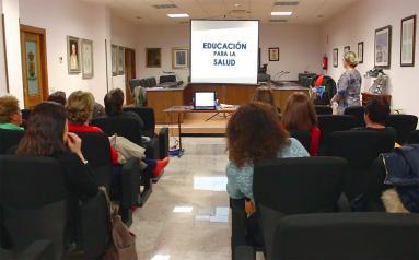 Más de 3.500 personas mayores participaron en actividades de educación para la salud impartidas por los profesionales de Atención Primaria