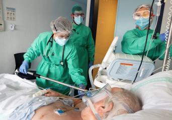 Continúa la reducción de casos y hospitalizados por COVID-19 en Castilla-La Mancha