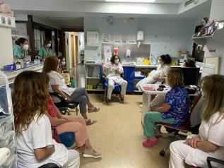 La Gerencia de Atención Integrada de Albacete forma a sus profesionales sanitarios en el ámbito de la lactancia materna