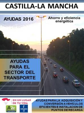 AYUDAS PARA FAVORECER EL AHORRO Y LA EFICIENCIA ENERGETICA EN EL SECTOR DEL TRANSPORTE