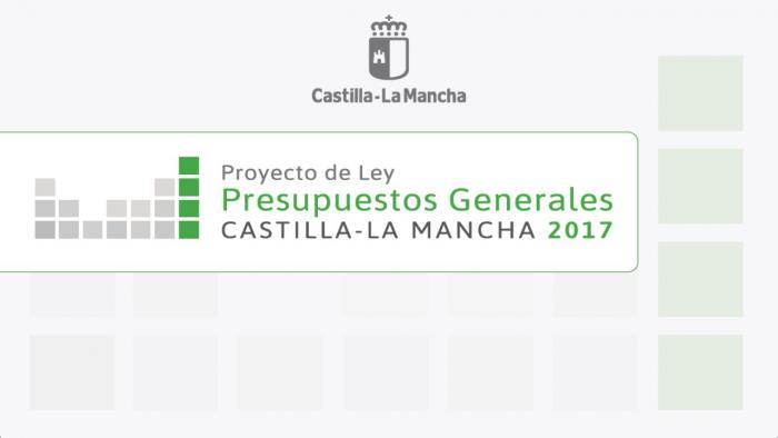Proyecto de Ley de Presupuestos Generales de Castilla-La Mancha para 2017