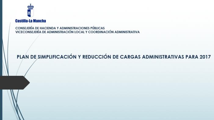 Foto Plan simplificación y reducción de cargas 2017