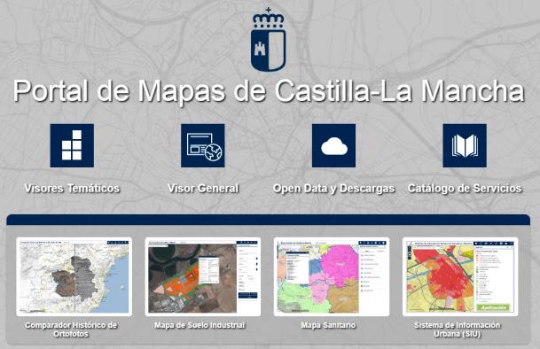Portal de Mapas de Castilla-La Mancha