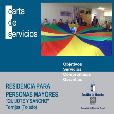 Residencia para Personas Mayores Quijote y Sancho de Torrijos