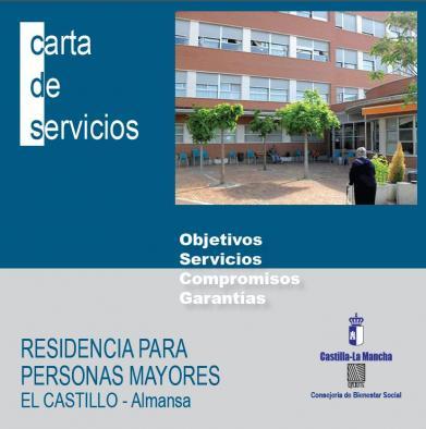 Residencia para Personas Mayores El Castillo de Almansa