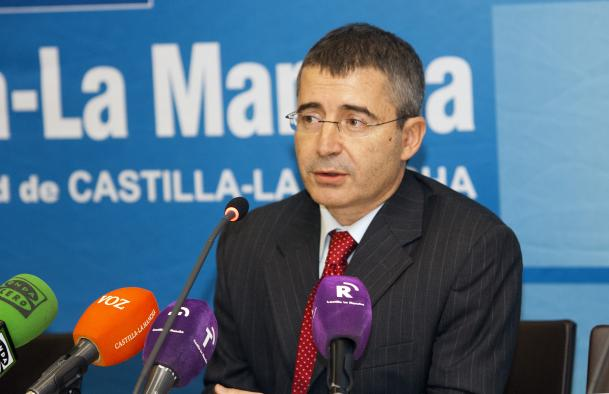 Rueda de prensa de Luis Carretero, gerente del SESCAM