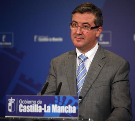 Marcial Marín en rueda de prensa