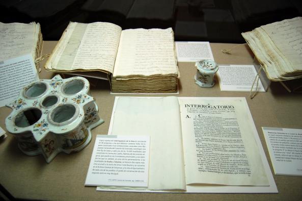 """Detalle de la exposición """"El Catastro de la Ensenada. Toledo 1753-2009"""""""