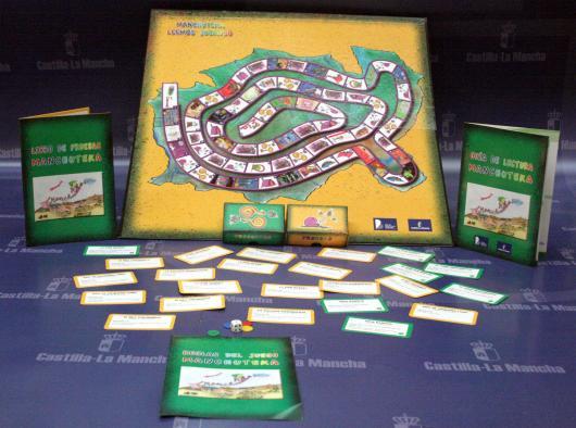 Imagen del juego Manchuteka, para fomentar el hábito lector entre los niños