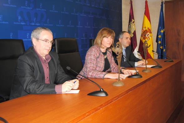 Ángeles García, durante la presentación de la undécima edición del Día de la Enseñanza