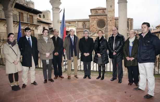 Esteban visita Ayuntamiento de Sigüenza II
