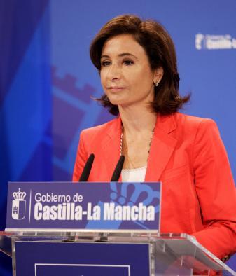 Marta García, consejera de Fomento. Foto de Archivo.