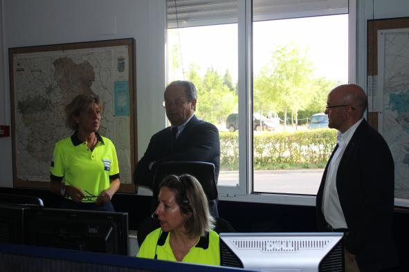 Visita a la Dirección General de Protección Ciudadana