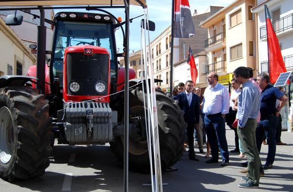 I Exposición de Maquinaria Agrícola en Motilla del Palancar (Cuenca)