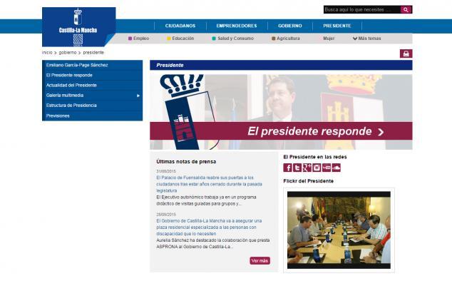 """El Gobierno regional pone en marcha """"El Presidente responde"""" para atender las demandas ciudadanas de una manera transparente y cercana"""
