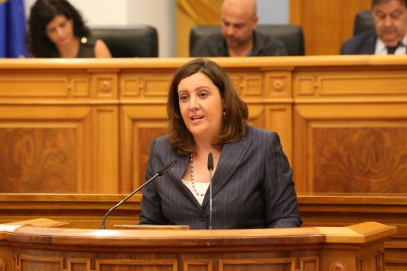Comparecencia de Patricia Franco, consejera de Economía, en las Cortes para hablar sobre Elcogas