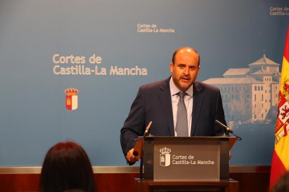 """Martínez Guijarro """"El Gobierno de Castilla-La Mancha está cumpliendo estrictamente la ley"""""""