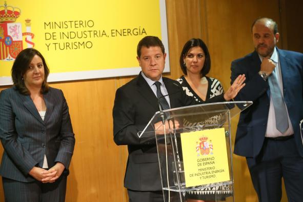 Reunión del presidente García-Page con el ministro de Industria