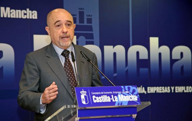 El viceconsejero de Economía, Empresas y Empleo, Francisco Rueda