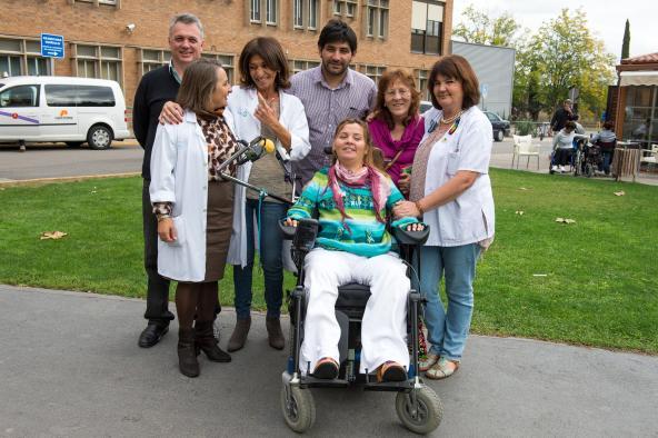 El curso de Educación para la Salud del Hospital Nacional de Parapléjicos se emite en directo por videoconferencia para la ciudad argentina de Córdoba