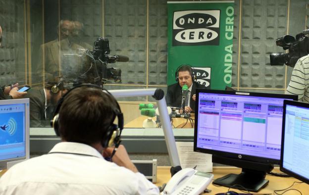 El presidente García-Page, entrevistado en Onda Cero