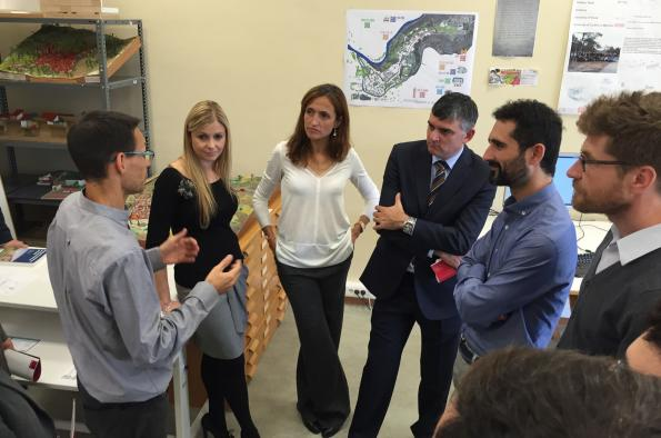 Fomento explora las posibilidades de colaboración con el Observatorio Urbano de Cuenca