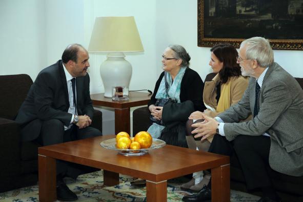 Audiencia con la Fundación Vicente Ferrer
