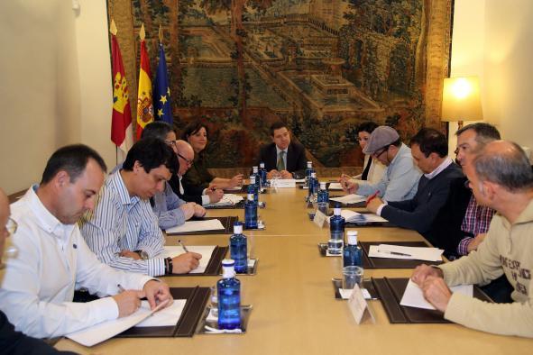 Encuentro con representantes sindicales de Elcogas