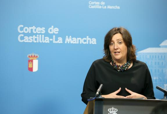 Patricia Franco comparece en la Comisión de Empleo de las Cortes