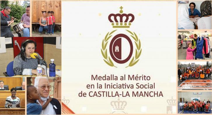 El Gobierno regional entregará el 2 de diciembre las Medallas al Mérito en la Iniciativa Social de Castilla-La Mancha 2015